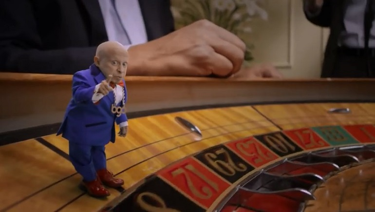 Verne Troyer, Austin Powers Mini-Me and bgo Casino