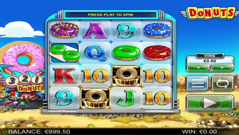 Munch on the Donuts Slot from Big Time Gaming