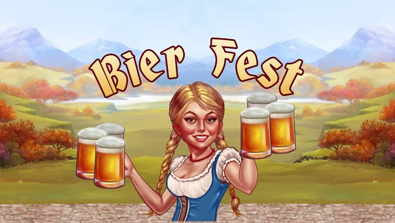 Genesis Gaming Launch German Themed Bier Fest Slot