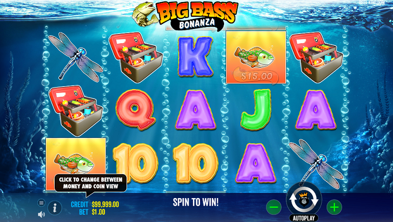 Fish For Prizes With New Big Bass Bonanza Slot From Pragmatic Play
