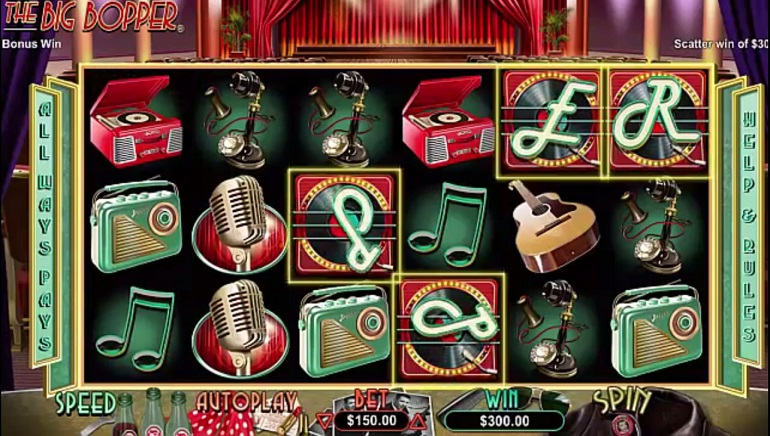 New Rock and Roll Slot from RTG: The Big Bopper