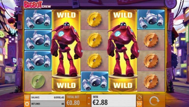 Quickspin Launches Robot-Themed Big Bot Crew Slot