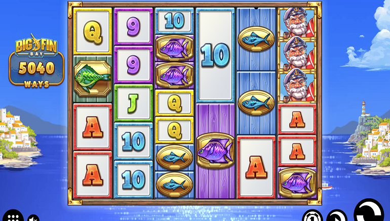 Fish For Prizes With New Big Fin Bay Online Slot From Thunderkick