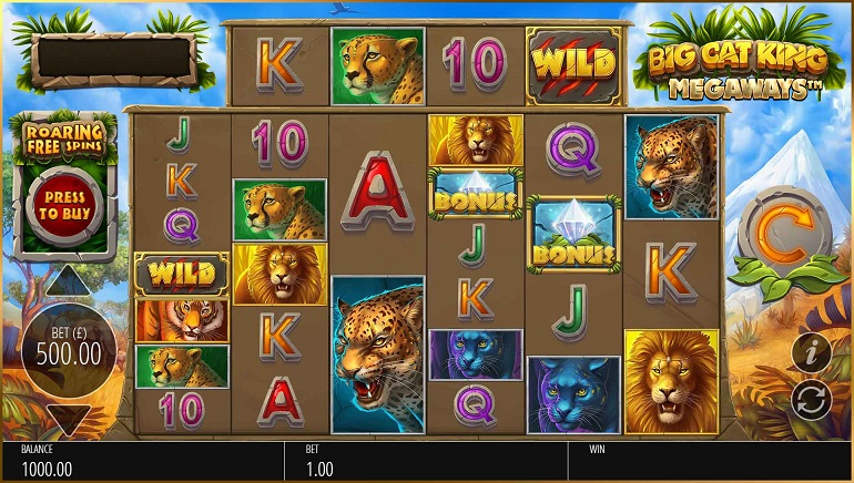 Slot Review: Big King Cats Megaways by Blueprint Gaming