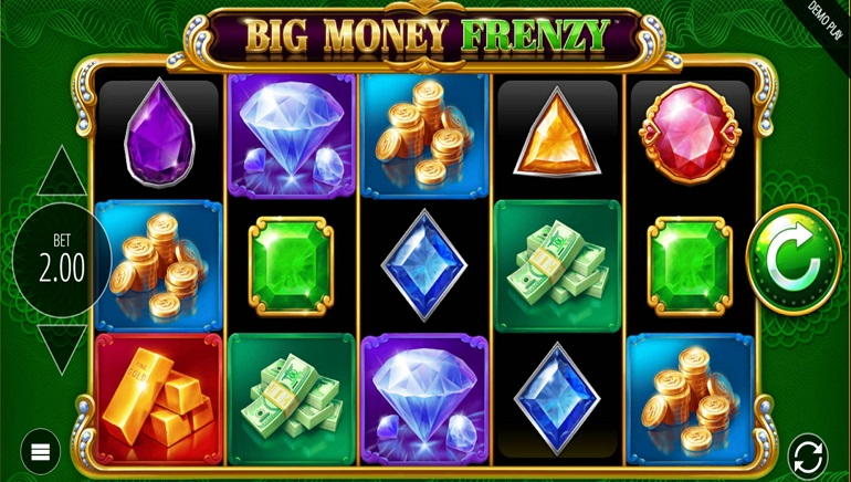 Blueprint Gaming Goes Big with Big Money Frenzy Slot