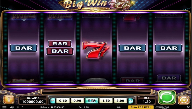 Play'n GO Brings Back Glamour of Classic Vegas With Big Win 777 Slot