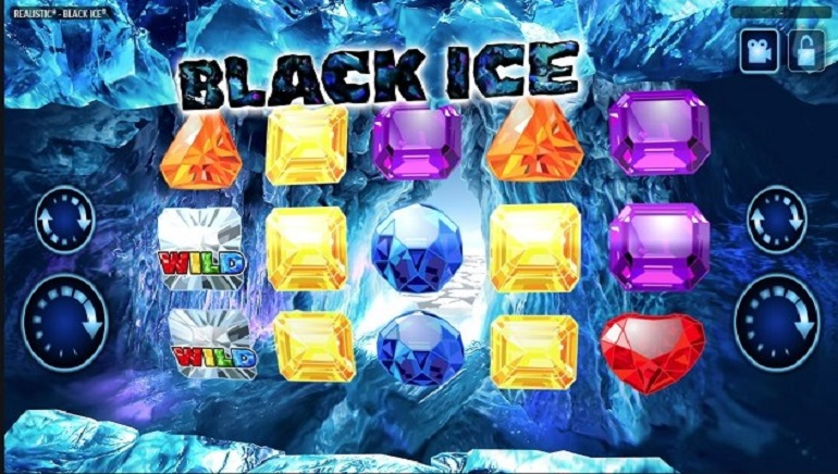 Black Ice 3D Slot Launched By Realistic Games