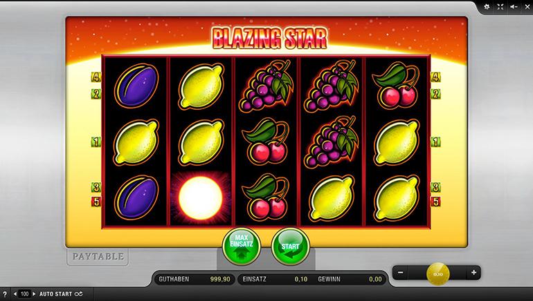 blazing star online casino