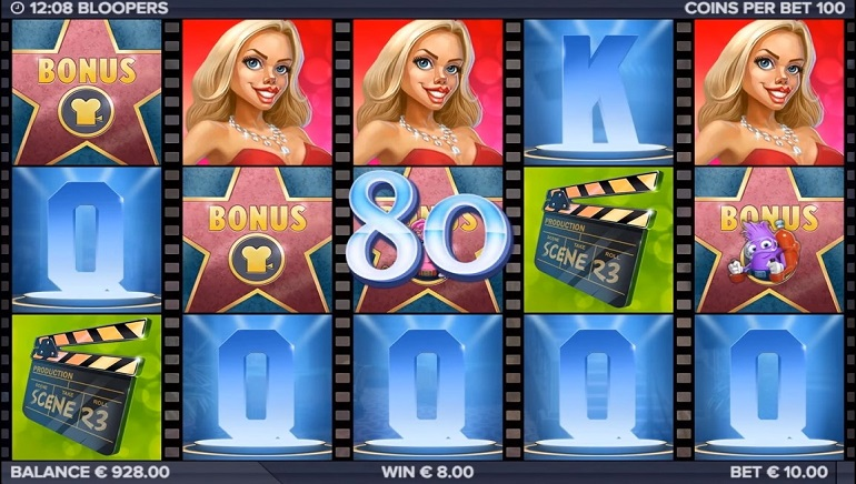 ELK Studios Launches Hollywood-Behind-The-Scenes Themed Slot Bloopers