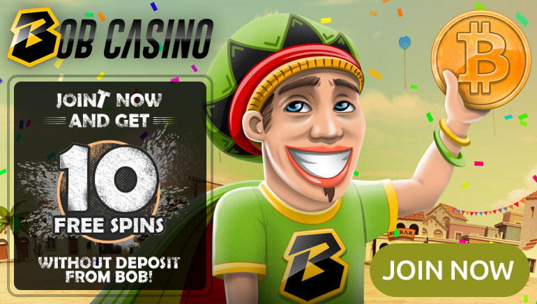 Fly High with 10 No Deposit Free Spins at Bob Casino