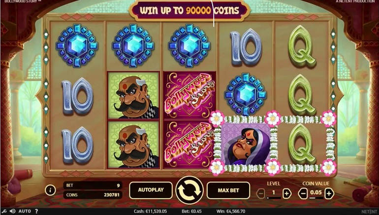 Bollywood story netent slot game rush png]