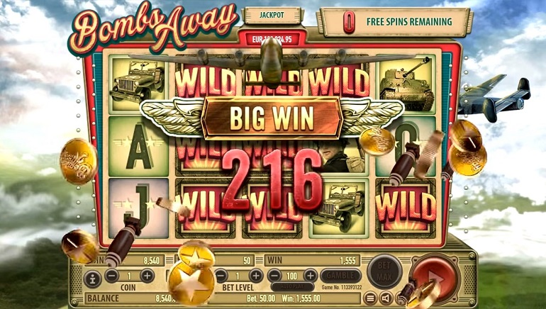 Incoming! Habanero Unleashes Bombs Away Slot Machine