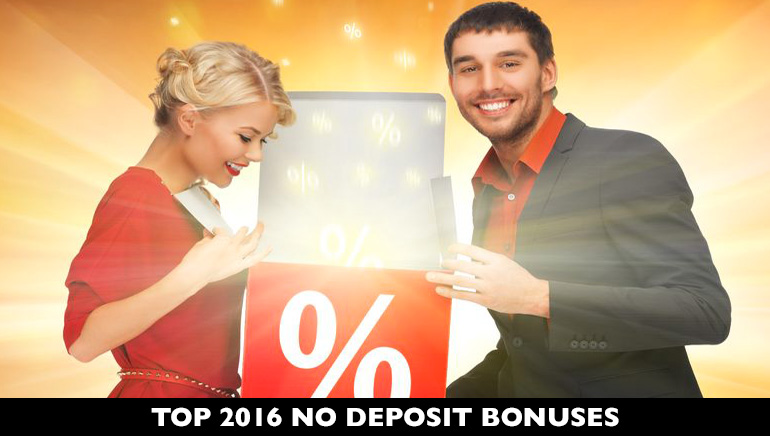 Give Your Bankroll a Boost with Sweet No Deposit Bonuses for 2016
