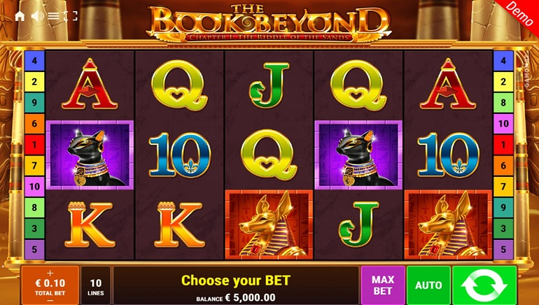 GAMOMAT Opens Up The Book Beyond Slot