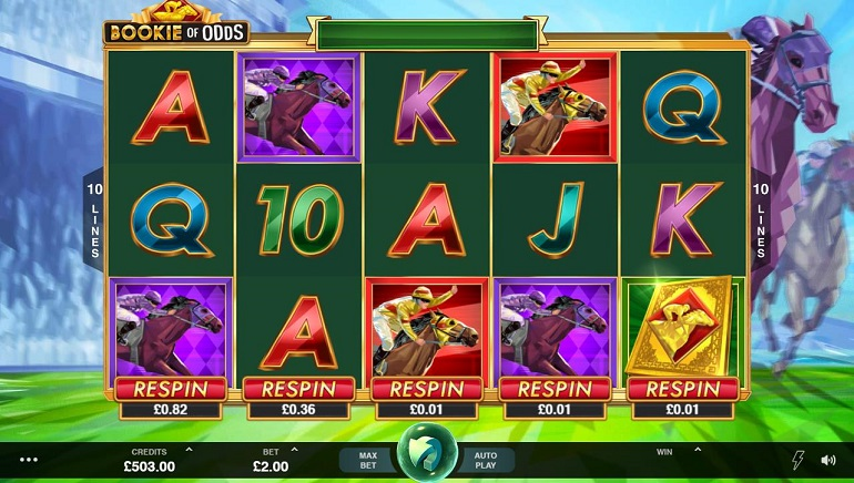 Microgaming Takes Players to the Races With New Bookie of Odds Slot