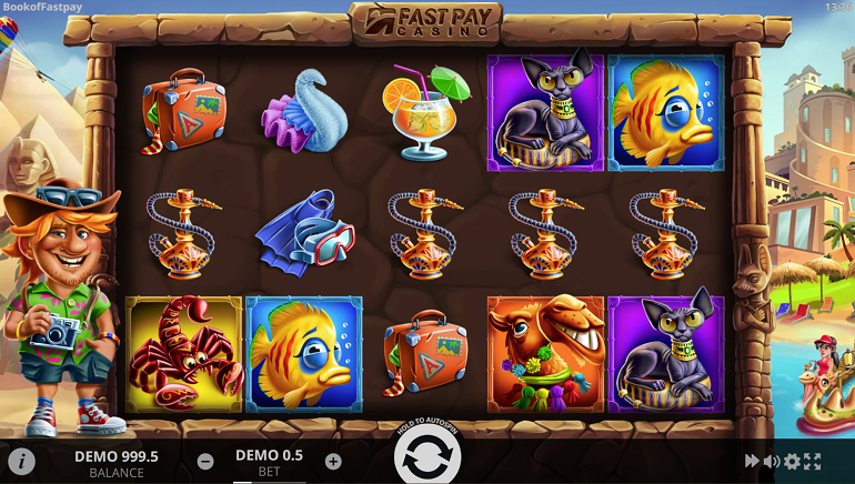 Action-Packed Book of FastPay Casino Slot Released