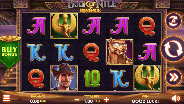 Book of Nile: Revenge Slot Takes Players To Ancient Egypt