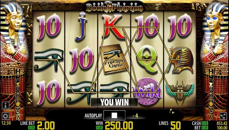 jackpotcity online casino pharaoh s