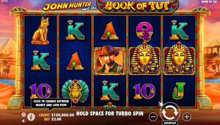 Pragmatic Play Debuts John Hunter and the Book of Tut Slot