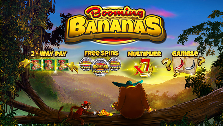 Going Ape with New Booming Bananas Slot