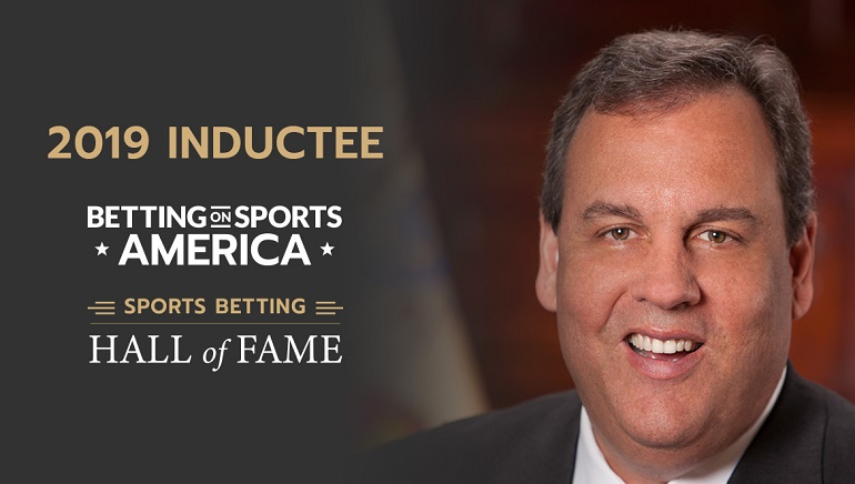 Chris Christie to be Recognized with Hall of Fame Induction at Betting on Sports America