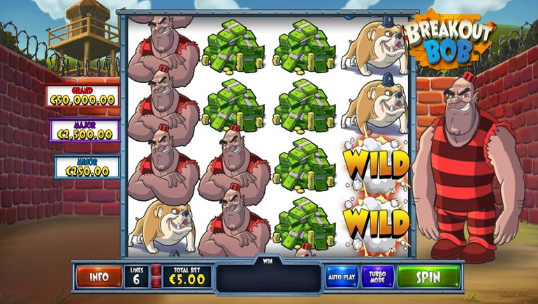 Playtech Slot, Breakout Bob, Offers a Massive Haul of 15,000x the Stake