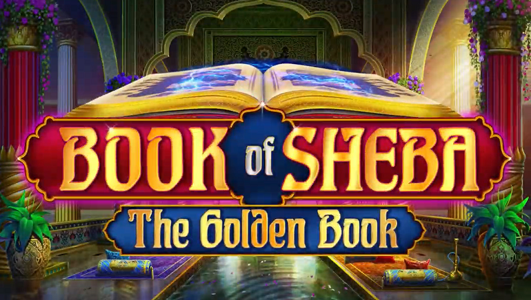 iSoftBet Opens Up Their New Book of Sheba Online Slot