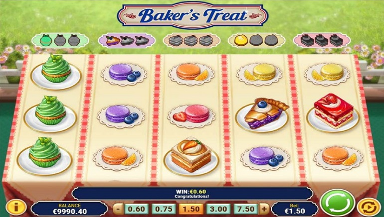 Slot Preview: Play'n GO's Baker's Treat