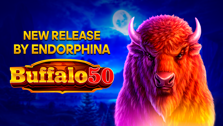Buffalo 50 Slot Released into the Wild by Endorphina
