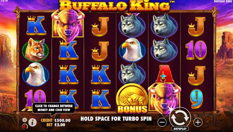 Buffalo King Slot From Pragmatic Play Stampedes Into Online Casinos