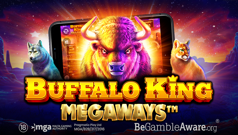 Join The Stampede To Play The New Buffalo King Megaways Slot From Pragmatic Play