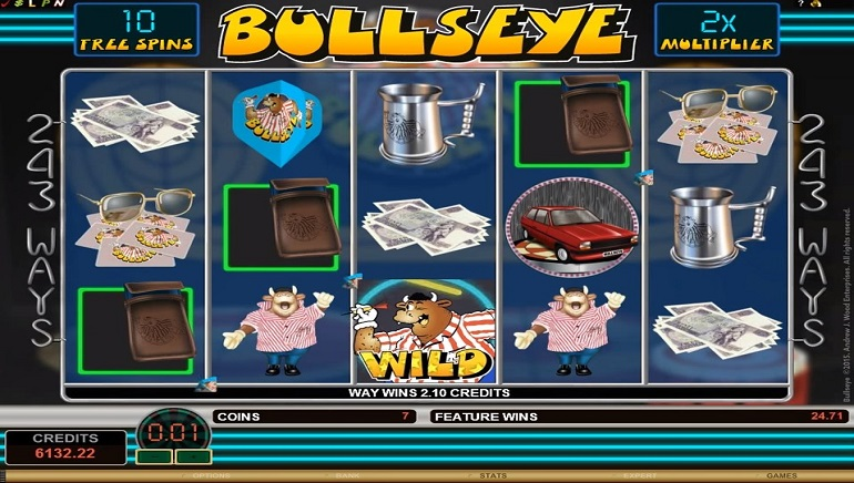 Microgaming's Newest Slot, Bullseye, Based on Classic Game Show