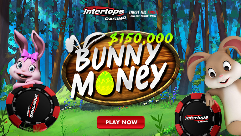 Special Bonus Awards at Intertops Casino's Bunny Money
