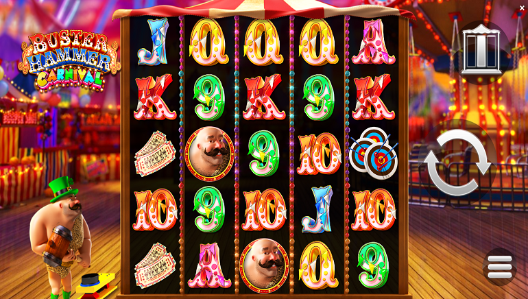 Yggdrasil & ReelPlay Launch Blockbuster New Slot - Buster Hammer Carnival