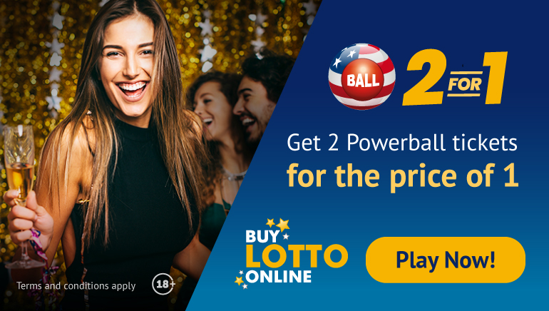 BuyLottoOnline Offers Players Two Powerball Tickets for the Price of One