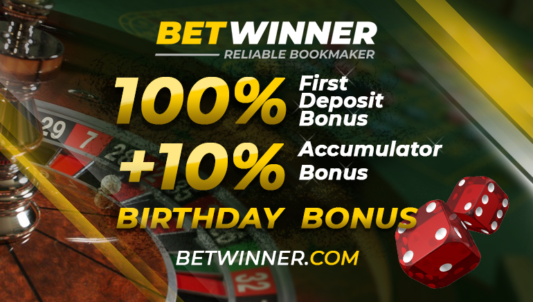 Kick Things of in Style With BetWinner 100% Bonus up to $/€100