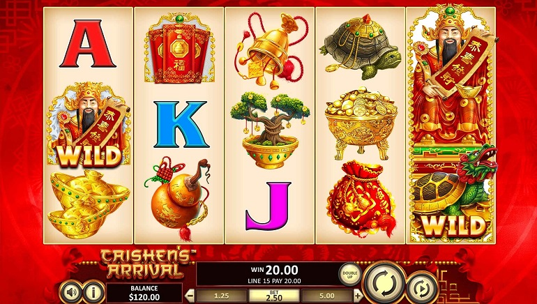Betsoft Casinos Celebrate Launch of Caishen's Arrival Slot