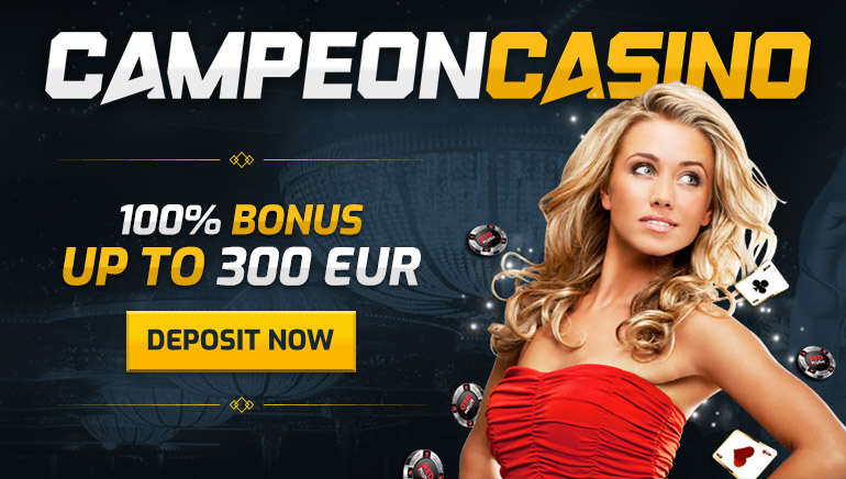 Boost Your First Deposit at CampeonBet Casino