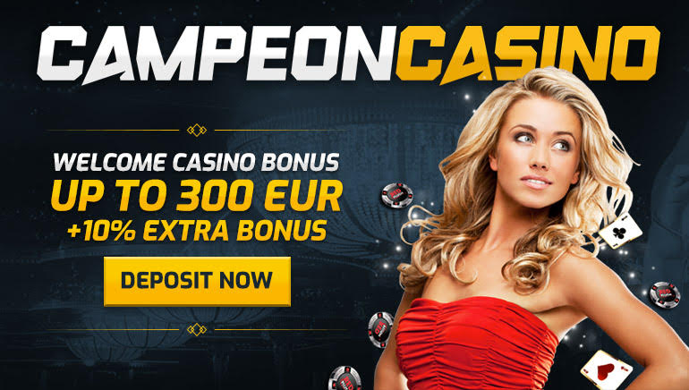 Claim Extra 10% on Top of Campeon Casino Welcome Offer