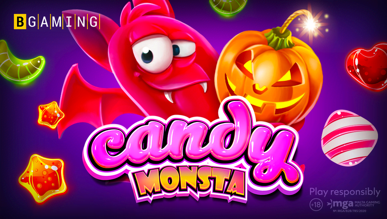 Feel the Halloween Vibe With New Candy Monsta Slot by BGaming