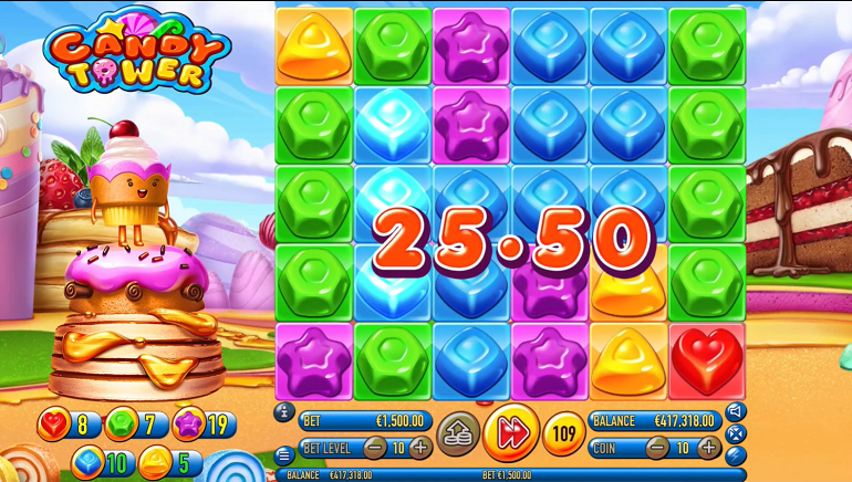 Habanero Delivers its Latest Sugar Rush Attraction with Candy Tower Slot Game
