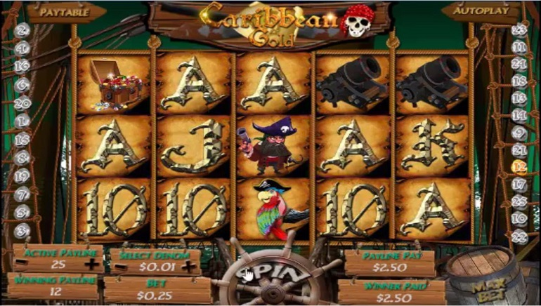 Player Scoops $99,000 Payout on Caribbean Gold at Liberty Slots Casino