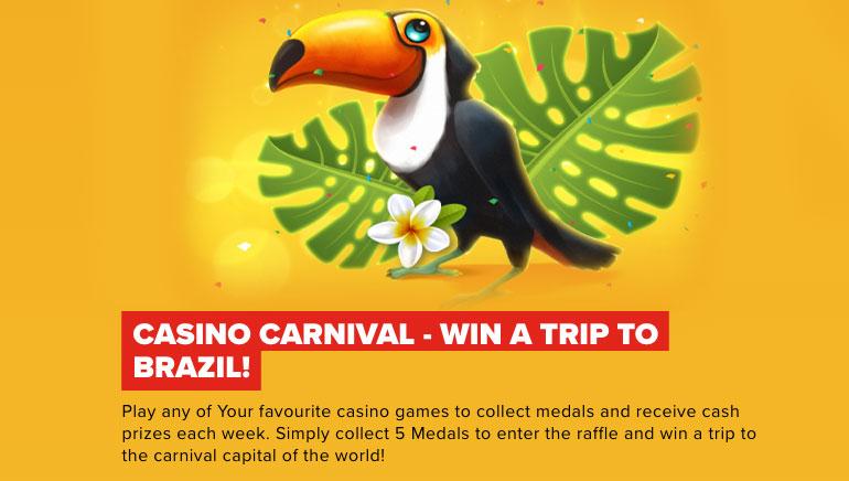 Optibet Casino Celebrates Carnival Season with a Trip to Brazil