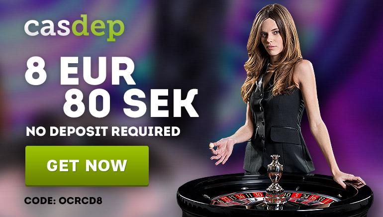 Did Someone Say Free Cash? €/$8 No Deposit Bonus at Casdep Casino