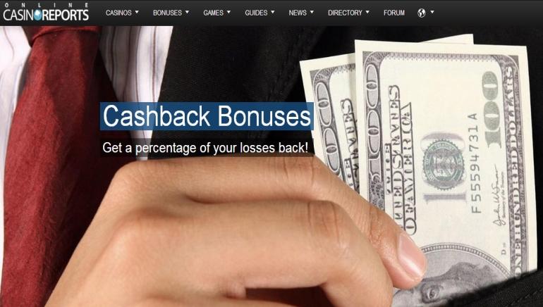 Special Feature: Cashback Bonuses