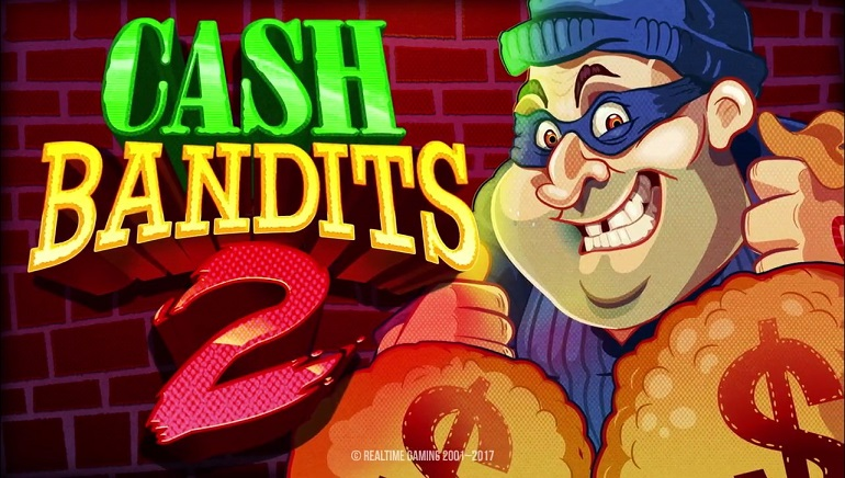 Plan a Heist in Realtime Gaming's Cash Bandit 2