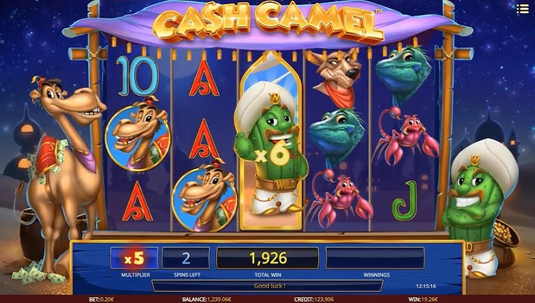 Cash Camel Slot from iSoftBet Introduces Players to a Cheeky Camel and his Pal Wild Wally