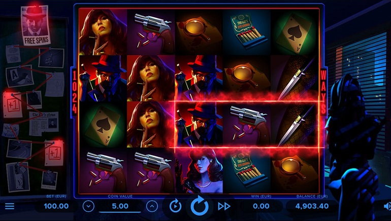 Solve a Murder Mystery With NetEnt's New Cash Noir Slot