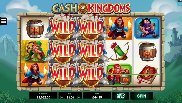 Microgaming's Cash of Kingdoms to Introduce Invading Wilds
