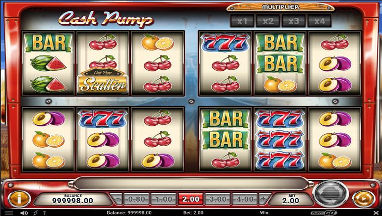 Play'n GO's Cash Pump Slot Features 12 Reels